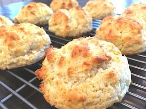 Cheesy Gluten Free Biscuits