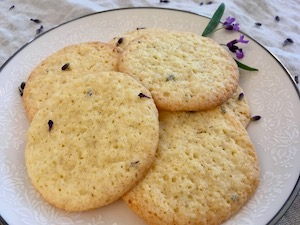 How to Make Gluten Free Lavender Drop Sugar Cookies