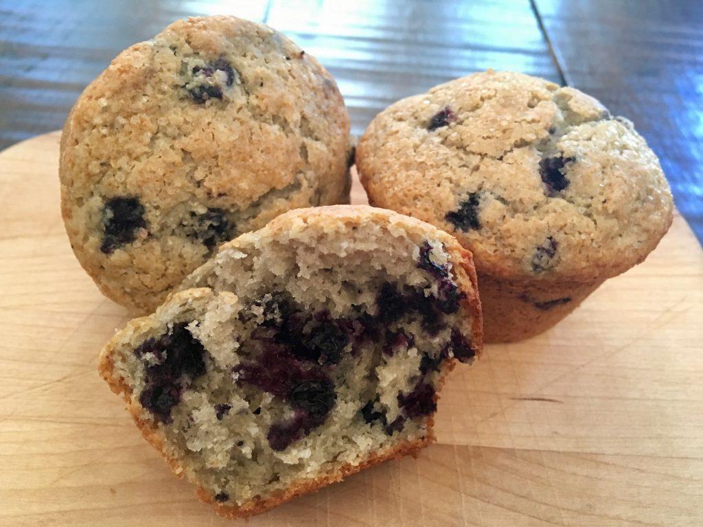 Gluten Free Huckleberry Muffin