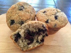 Gluten Free Huckleberry Muffin