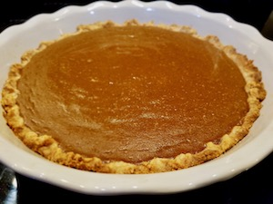 How to Make Flour Farm's Gluten Free Pumpkin Pie