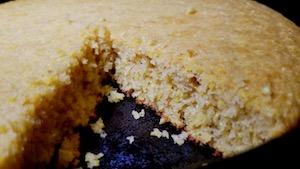 Gluten Free Cast Iron Cornbread - Gum Free