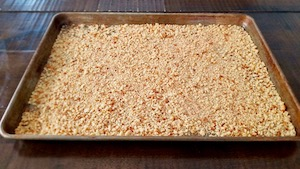 How to Make Gluten Free Panko Style Breadcrumbs