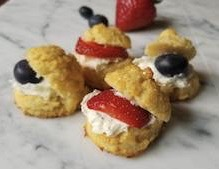Gluten Free Mini Tea Party Bicuits - Enjoy Sweet Time Totether