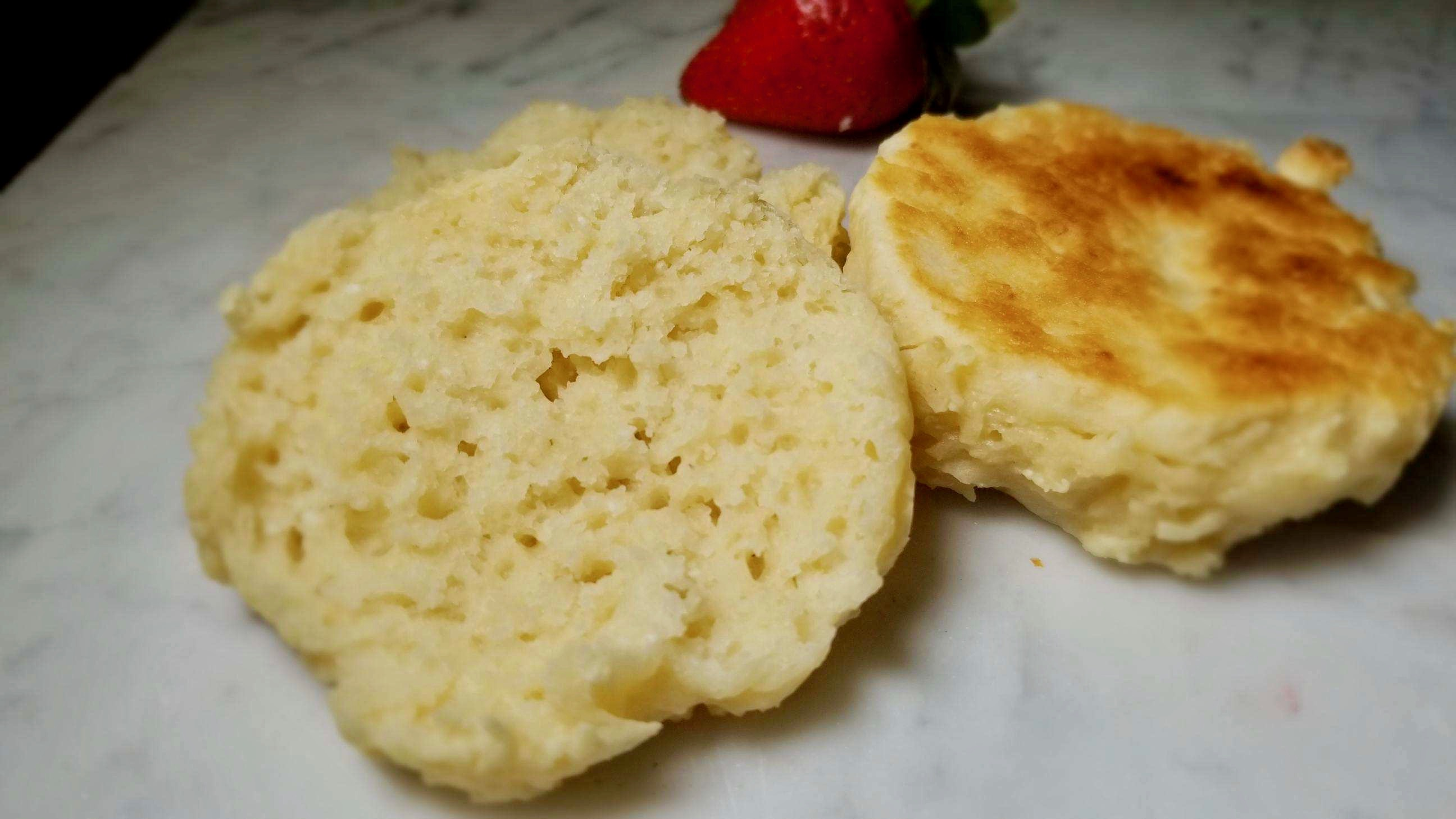 Fork-split, Sourdough English Muffins - Gluten Free