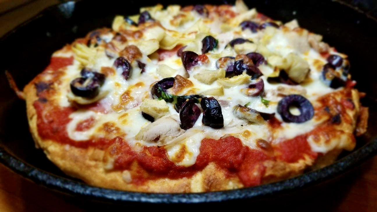 How to Make Gluten Free Pan Pizza