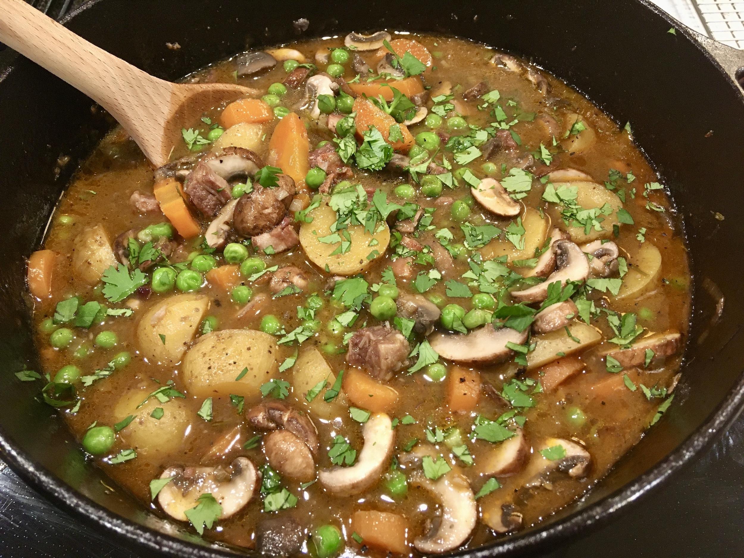 Hearty Lamb Stew - Gluten Free