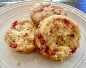 How to Make Gluten Free Fresh Raspberry Muffins