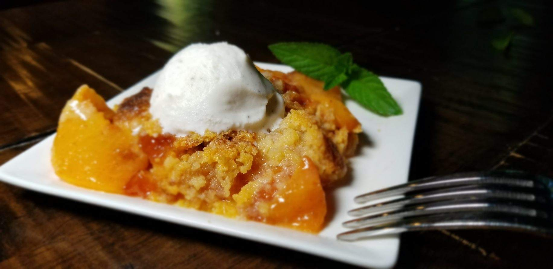 How to Make Gluten Free Fresh Peach Cobbler