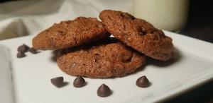 Flour Farm's GF Double the Chocolate Chip Cookies