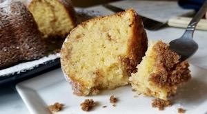 How to Make Gluten Free Sour Cream Coffee Cake