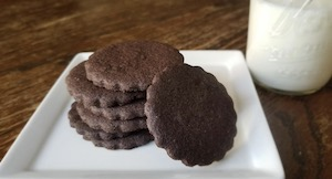 How to Make Gluten Free Chocolate Wafer Cookies